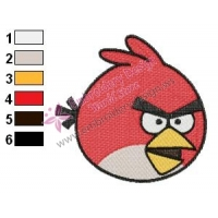 Angry Birds Embroidery Design 10